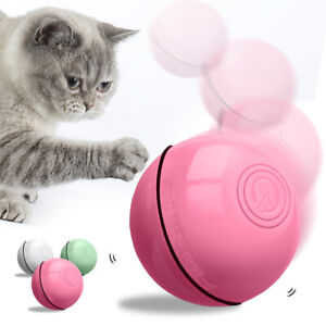 Interactive Electronic Cat Toy Automatic Rolling Movement Ball for Indoor Cats