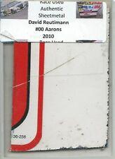DAVID REUTIMANN #00 AARONS TOYOTA CAMRY AUTHENTIC NASCAR RACE USED SHEETMETAL #1
