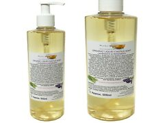 Organic Castile Soap Lavender/Rosemary, 100% Natural & SLS Free, 500ml