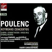 Poulenc: Keyboard Concertos, Choral Works, , Good Used CD Box set