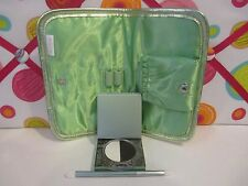 MALLY GIRL ~ 24 / 7 EYE LINING SYSTEM ~ CRISP BLACK ~ COMES WITH GREEN POUCH