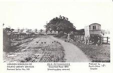 London Postcard - Old Pitshanger - Greenford Road - Showing [Gipsy Caravan] U858