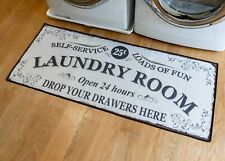 Soft Woven Grip-back Woven Printed Rug Laundry Room Mat Runner LUPR-24X56-SULA
