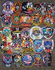 *CLEARANCE*  Houston - 25 Total Fire Patch Set # 1  NO DUPLICATES IN SET