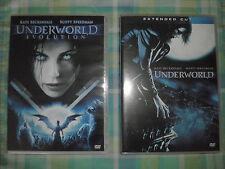 DVD UNDERWORLD EVOLUTION 1 E 2  IMPECCABILI COME NUOVI ANNO 2006