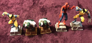Marvel Heroes Chess  Lot Of 5 Mix PC 2003