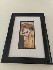 """Jack Vettriano """"The Direct Approach"""" Art Print Wood Framed Matted 14"""" x 10"""""""