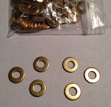 USA Tattoo Machine 10 #8 Brass Washers, Binder Parts US Seller