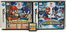 3 DS Mario Game Lot: Mario Party DS, Mario & Sonic Olympic Games, Winter Games