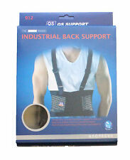 Industrial Back Support Double Pull Strap Heavy Duty Soft,Elasticated,Flexible