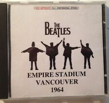 "The Beatles ""Live 1964 Vancouver, 80 minutes  Rare Recording Great Quality CD"