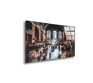 KARE DWELL GLASS PICTURE Wall Art Grand Central Station PRINT-ON-GLASS 150x100cm