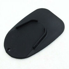 Motorcycle Kickstand Side Stand Pad Base For Kawasaki Harley Black Protect black