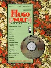 Hugo Wolf-German lieder: Music Minus One voix élevée par Music Minus One...