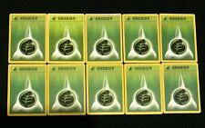 10 Basic Energy Lot 10 Grass Type Vintage Pokemon Cards