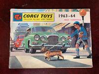 Corgi Catalogue 1963-64 In Good Used Condition