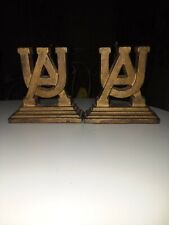 Vintage University  of ALABAMA CRIMSON TIDE  Cast Iron Bookends  heavy