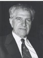 Foto Ökonom MERTON MILLER Pressefoto Vintage von 1992  Nobelpreis USA Wirtschaft