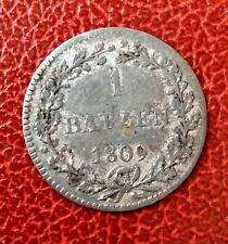 Suisse - Canton de  Bale / Basel - 1 Batzen  1809