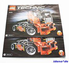 LEGO Technic Technik Bauanleitung für Racing Renn - Truck 42041 8041 selten Neu