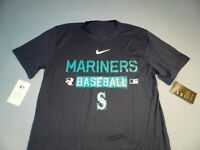 Nike Seattle Mariners Baseball 2nd Season BRAND NEW shirt MLB dri fit SEA