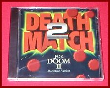 Death Match 2 for Doom II Apple Macintosh Mac Computer NEW SEALED