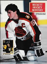 Beckett Hockey Magazine, Issue #4 February 1991 Mario Lemieux On Cover