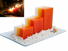 Modern Candle & Tea Light Plates/Trays with Floor