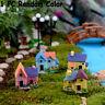 Micro Landscape Mini Villas Cottage Figurines Fairy Garden Miniature House