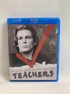 TEACHERS Olive Films US BLU-RAY cult 80s education school drama Nick Nolte