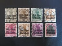 "GERMANY STAMPS  USED 1915-18 WWI ""DEUTSCHES REICH"" RUSSIAN POLAND OCCUPATION"