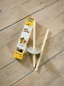 2 Pcs or 1 pair Ear candles Straight Style - 100% Beeswax ** Happy Ears **