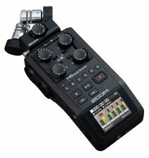 Zoom H6 Black tragbarer Audio-recorder