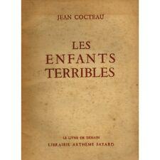 Les enfants terribles / Cocteau, Jean / Réf 11405
