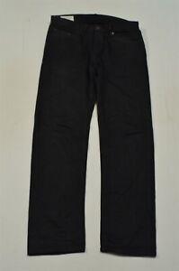 Banana Republic 32 x 32 Straight Black Flex Denim Jeans