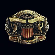 'United States 200th Anniversary Commemorative' Belt Buckle NEW