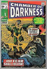 CHAMBER OF DARKNESS #5 JACK KIRBY COVER