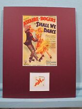Fred Astaire & Ginger Rogers honored by the stamp to honor American Dance