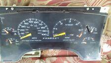 1996 CHEVROLET JIMMY SPEEDOMETER ODOMETER CLUSTER TACHOMETER GAS GAUGE OEM 213K