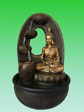 NEW 40CM Tall Buddha Feature - Calming Buddha  Water fountain Free Shipping NOW
