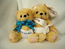 Cherished Teddies Plush Millennium Event pair 1999 RETIRED