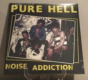 Pure Hell - Noise Addiction LP Punk Vinyl