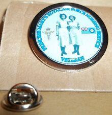 Princess Mary's Royal Air Force Nursing Service Veteran pin badge.