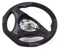 Aplati Alcantara Volant en Cuir BMW M-POWER E87, E88 Neuf Cuir -ouverture
