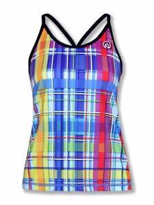 INKnBURN Women's Rainbow Plaid Camisole