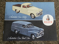 1955 HOLDEN FJ PANEL VAN AND UTE BROCHURE.  100% GUARANTEE.
