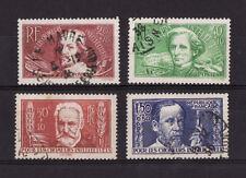 timbre France   chomeur intellectuel   série  num: 330/33   oblitéré