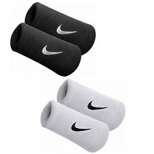 Nike Tennis Badminton Swoosh Double-Wide Wristband Sweatbands Squash Headband