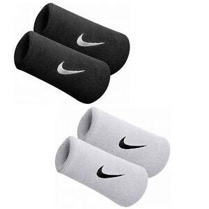 Nike Tennis Badminton Swoosh Double-Wide Wristband Sweatbands Squash Headband