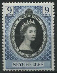 Seychelles 1953 SG#173 QEII Coronation MH #D24437